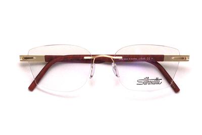 薄型レンズ付メガネセット  シルエット アイデンティティ 5535/HZ-7620(エアーズレッド)
