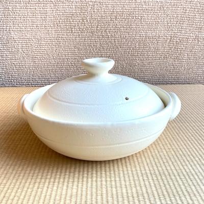 炊きじょうず9号土鍋(ホワイト)