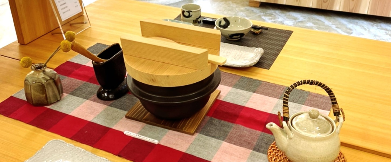 三重県四日市・菰野の陶器。萬古焼の土鍋