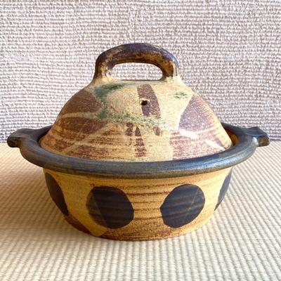 稲垣竜一作 伊羅保釉手造鍋