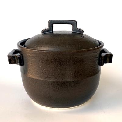 黒吹き角手炊飯鍋 2合