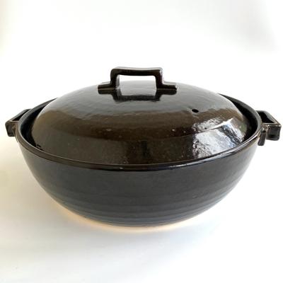荒土使用 スタイル土鍋ブラック9号