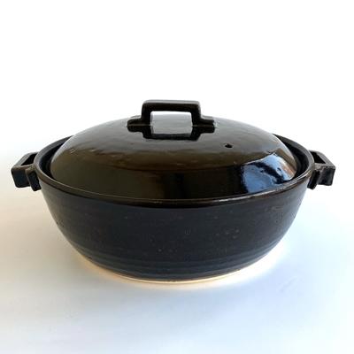 荒土使用 スタイル土鍋ブラック8号