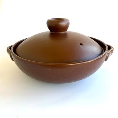 9号 ブラウン土鍋