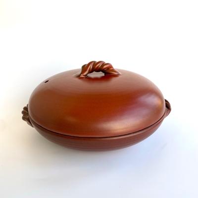五楽鍋(中)鉄赤