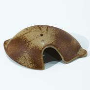 枯れ葉形産卵床 素焼風(小)