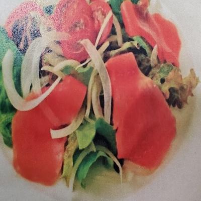 天然 紅鮭スモークサーモン スライス 500g
