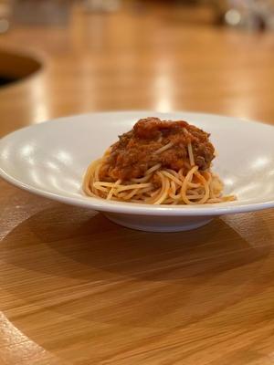 【低脂質・高蛋白フード】鹿肉のミートソース