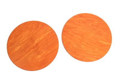 丸台 φ25cm シナ オレンジ
