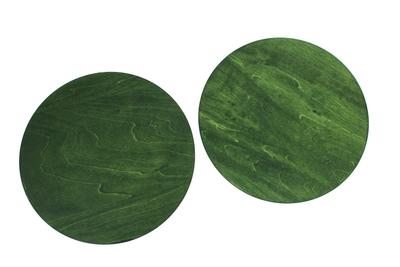 丸台 φ25cm シナ 緑