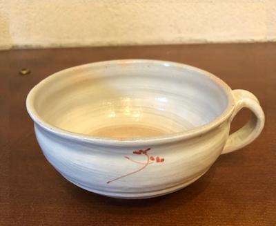 スープカップ 赤・緑【クローバーシリーズ】