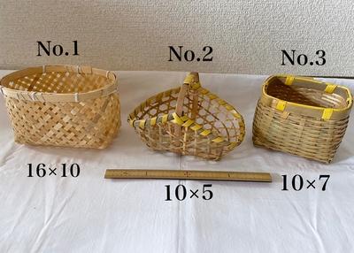 一閑張りミニ竹器制作キット(仙台七夕まつり吹き流し飾り和紙付き)