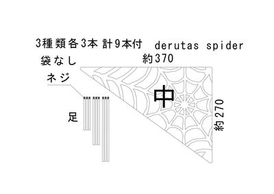 derutas spider 中