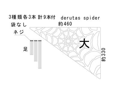 derutas spider 大