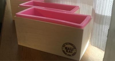 【600ML】シリコンモールド(木箱付) 1箱