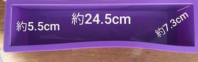 【900ML】シリコンモールドのみ 1モールド