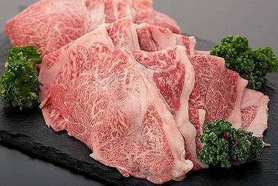 岩手県産 黒毛和牛A5ランク リブロース・肩ロース すき焼き用(300g)