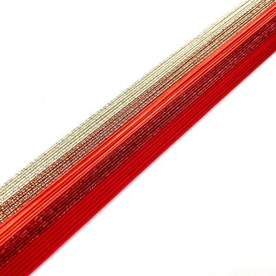 水引素材 赤ゴールド系