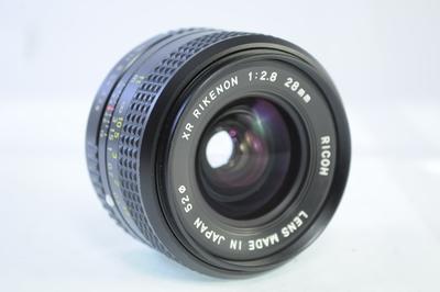 【A】リコー RICOH XR RIKENON 28mm F2.8 ペンタックスK