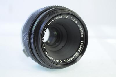 【A】オリンパス OLYMPUS OM-SYSTEM ZUIKO MC 50mm F3.5