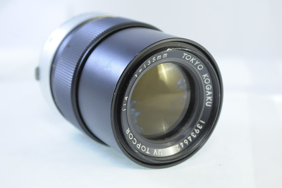 【C】TOKYO KOGAKU UV TOPCOR 135mm F4