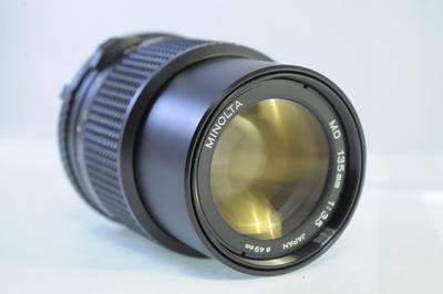 【A】ミノルタ MINOLTA MD 135mm F3.5