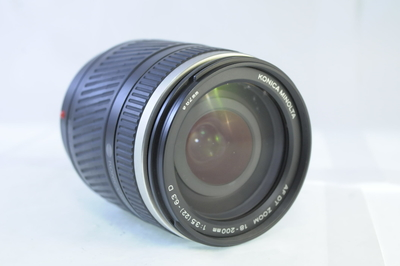 【C】KONICAMINOLTA AF DT 18-200mm F3.5-6.3 D