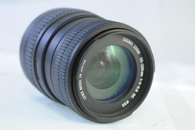 【B】シグマ SIGMA 55-200mm F4-5.6 DC キヤノン