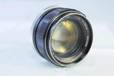 【C】ミノルタ MINOLTA MC ROKKOR-PF 58mm F1.4