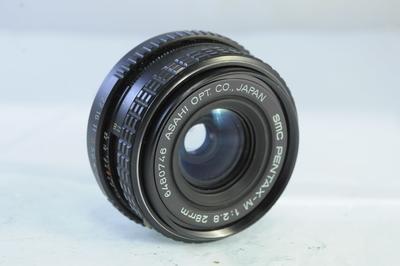 【C】ペンタックス SMC PENTAX-M 28mm F2.8
