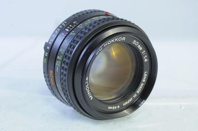 【AB】ミノルタ MINOLTA MD ROKKOR 50mm F1.4