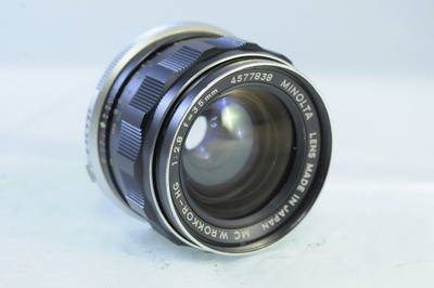 【AB】ミノルタ MINOLTA MC W-ROKKOR 35mm F2.8