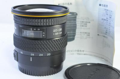 【D】トキナー TOKINA AF 20-35mm F3.5-4.5 EFマウント