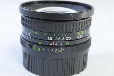 【B】コシナー COSINA 20mm F3.8 MC WIDE ANGLE ペンタックスK