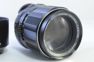 【C】ペンタックス PENTAX SMC TAKUMAR 105mm F2.8 M42