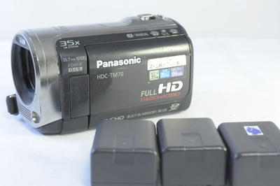 【D】パナソニック PANASONIC HDC-TM70