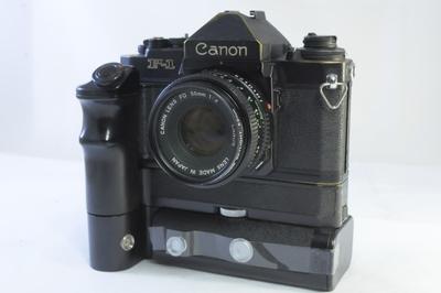【D】キヤノン CANON F-1 ボディ+NFD 50mm F2