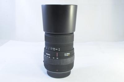 【AB】シグマ SIGMA 55-200mm F4-5.6 DC SAマウント