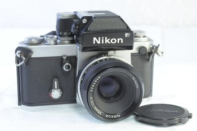【AB】ニコン Nikon F2 フォトミックボディ+50mm F2