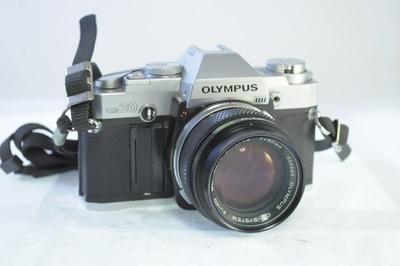 【B】オリンパス OLYMPUS OM30 ボディ+50mm F1.4 シャッター全速・露出計完動