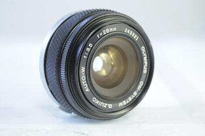 【B】オリンパス OLYMPUS G,ZUIKO AUTO-W 28mm F3.5