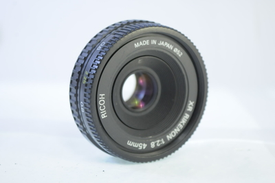 【AB】リコー RICOH XR RIKENON 45mm F2.8 ペンタックスK