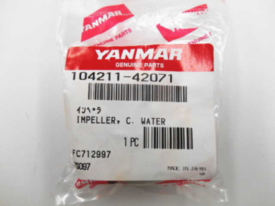 ヤンマー 2GM20/3GM30 インペラ