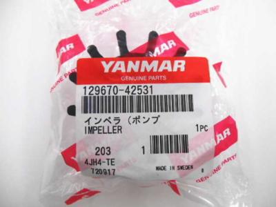ヤンマー 4JH3E インペラ