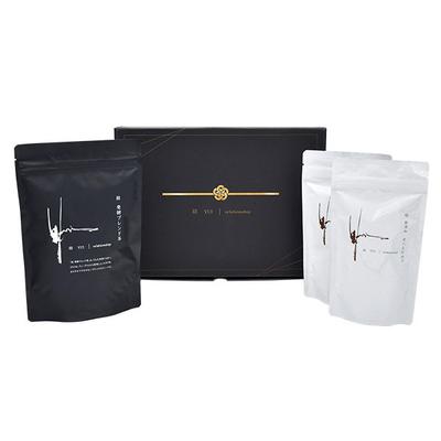 結 ギフトセット 発酵ブレンド茶(1袋)・食べるお出汁(2袋)