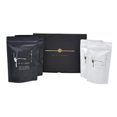 結 ギフトセット 発酵ブレンド茶・食べるお出汁(各2袋)