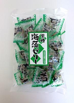 黒糖海藻ゼリー