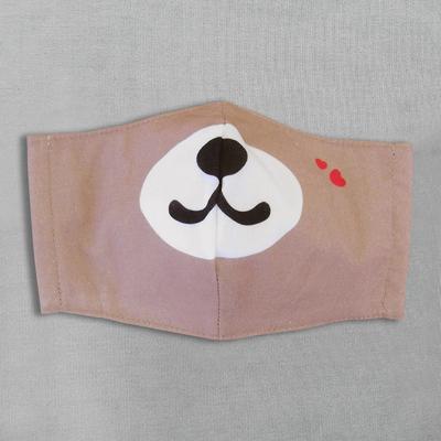 【水野染工場】動物マスク クマ