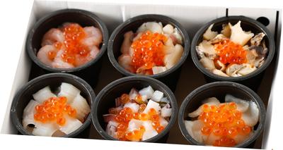 北の海鮮小鉢(6食セット)【ギフト送料一律】