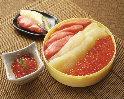 魚卵3種詰め合わせ【ギフト送料一律】